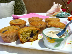 Grain-Free Blueberry Muffins