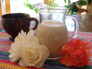 Super Simple Dairy-Free Coffee Creme